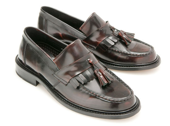 Selecta Ladies  Tassel Loafer Oxblood