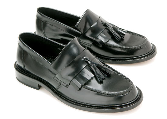 Selecta Ladies  Tassel Loafer Black