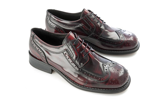 Krombie Brogue Oxblood