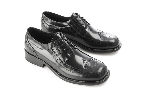 Krombie Brogue Black