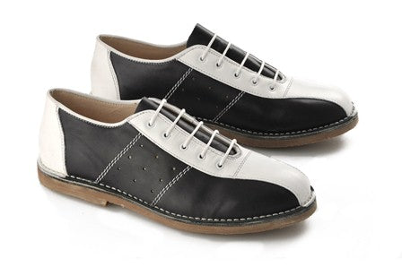 Marriot Bowling Shoe  Black & White
