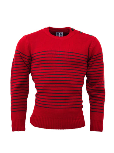 The Naval Jumper Red/Navy