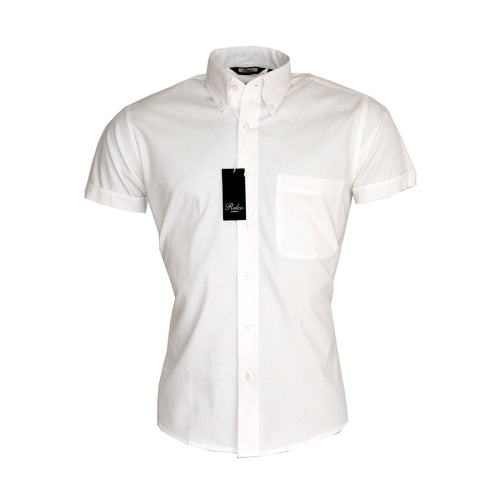 Oxford Shirt White SS