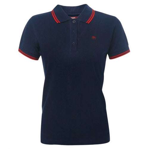 Rita Ladies Polo Blue