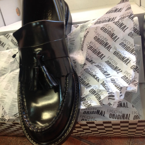 Selecta Tassel Loafer Black