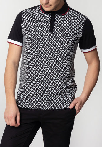 Swift Polo Shirt Black