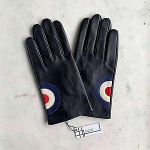 Men's Black Target Gloves