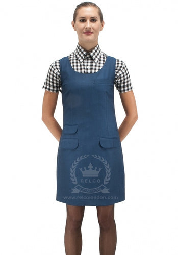 Tonic Pinafore Blue