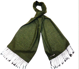 Racing Green Tweed Scarf
