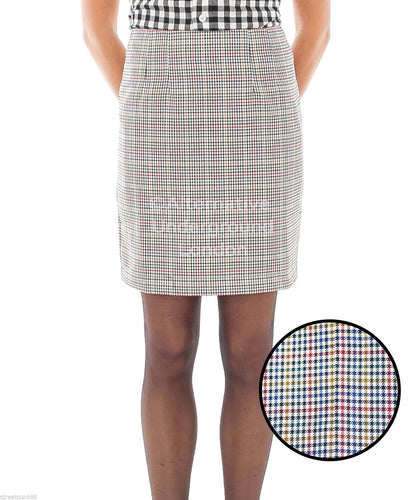 Tweed Skirt Multi