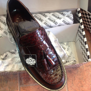 Weaver Tassel Loafer Oxblood