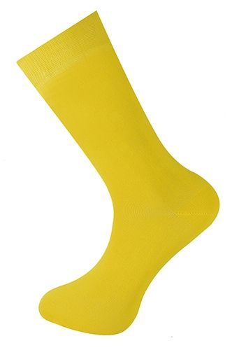 Plain Ankle Sock Yellow