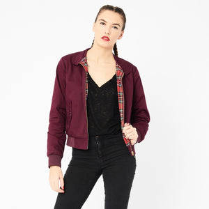 Harrington Classic Ladies Burgundy