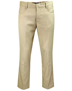 Men's Classic Hopsack Bootcut Trousers - (2 Colours)