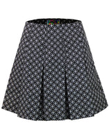Bijoux Geo Circle Pleated Tennis Skirt