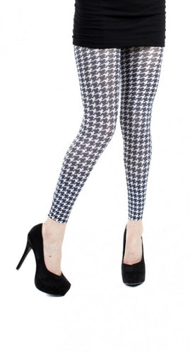 Dogtooth Footless Tights