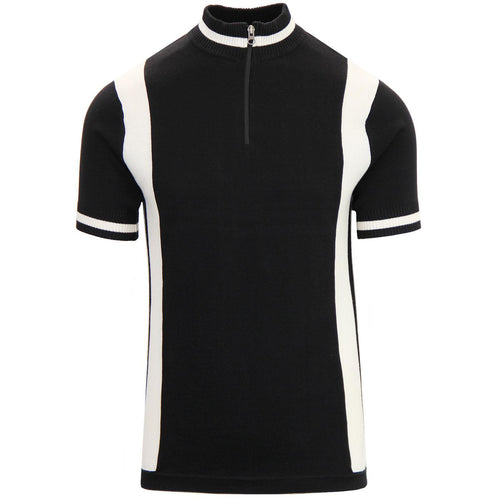 Vitesse Knitted Cycling Top Black