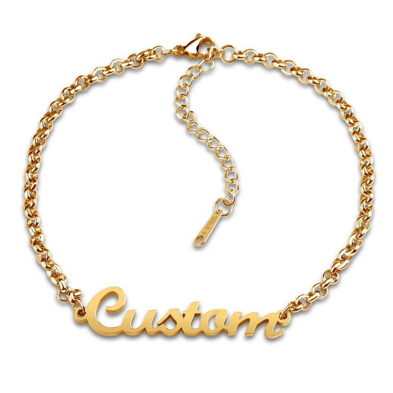 Simple Custom Name Bracelet
