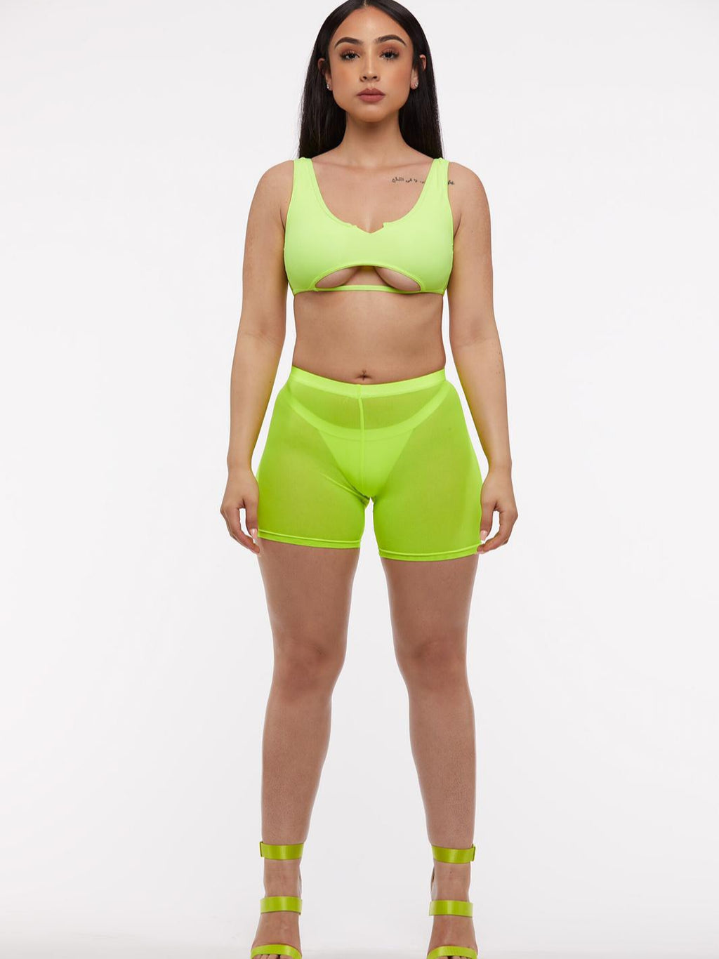 Neon Sheer Cover Up Pants (2026291200115)