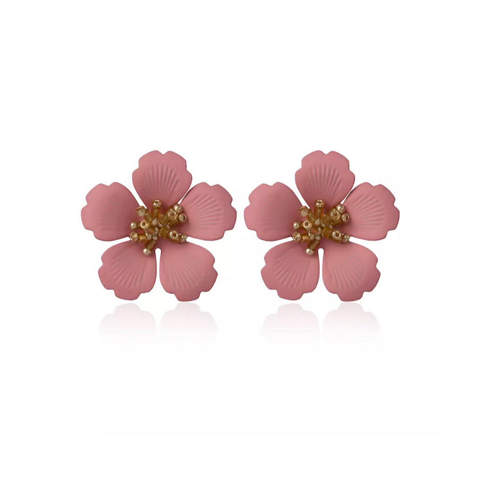 Flower Earrings (5347909173414)