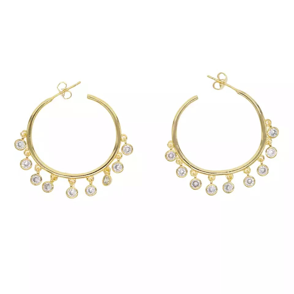 Charm Small Hoops