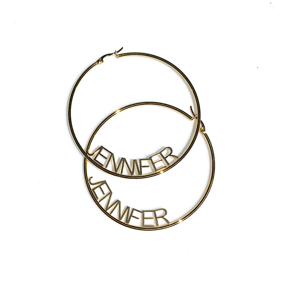 Custom Hoop Earrings (5358033666214)