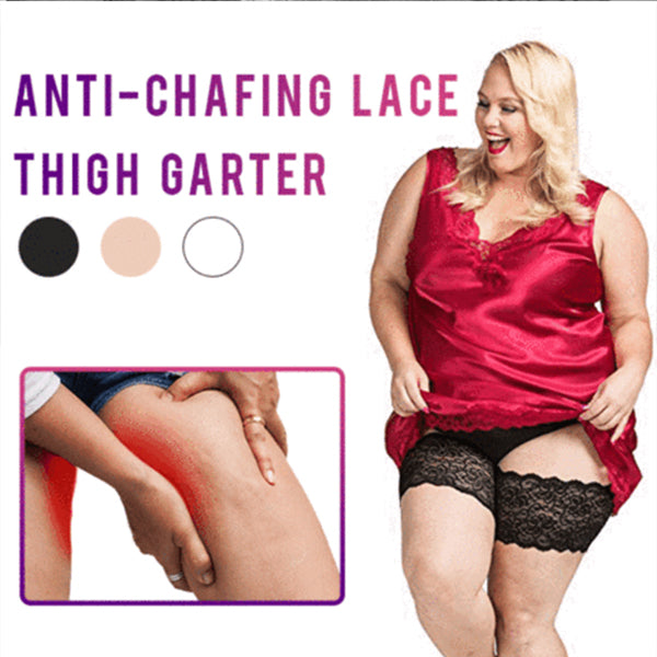 Ultra Anti-Chafing Lace Thigh Inner