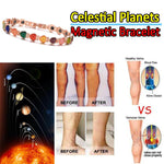Magnetic therapy bracelet,Brazilian Magnetic Ore&Natural opal