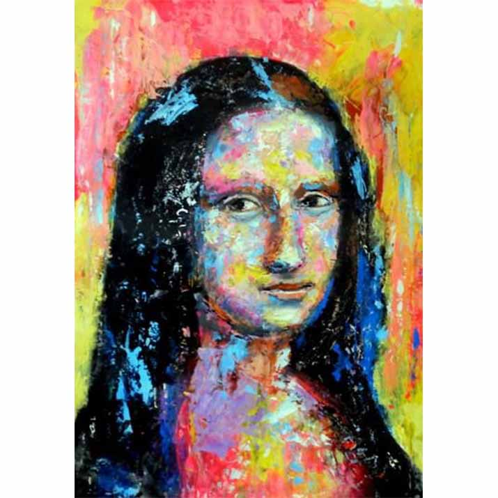 Mona Lisa--5D DIY Diamond Painting