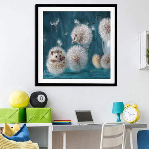 Hedgehog 5D Full Square Diamond Painting