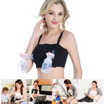 Hands Free Back Adjustable Wireless Pumping Bra