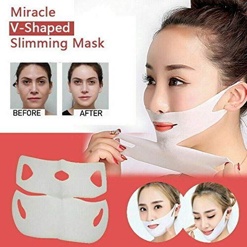 This Slimming Mask Is Pure Magic, 2019 Miracle V-Shaped Slimming Mask (3 Pieces/Set)