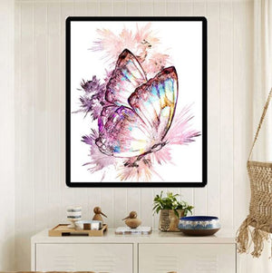Colorful Butterfly --- 5D Diamond Painting