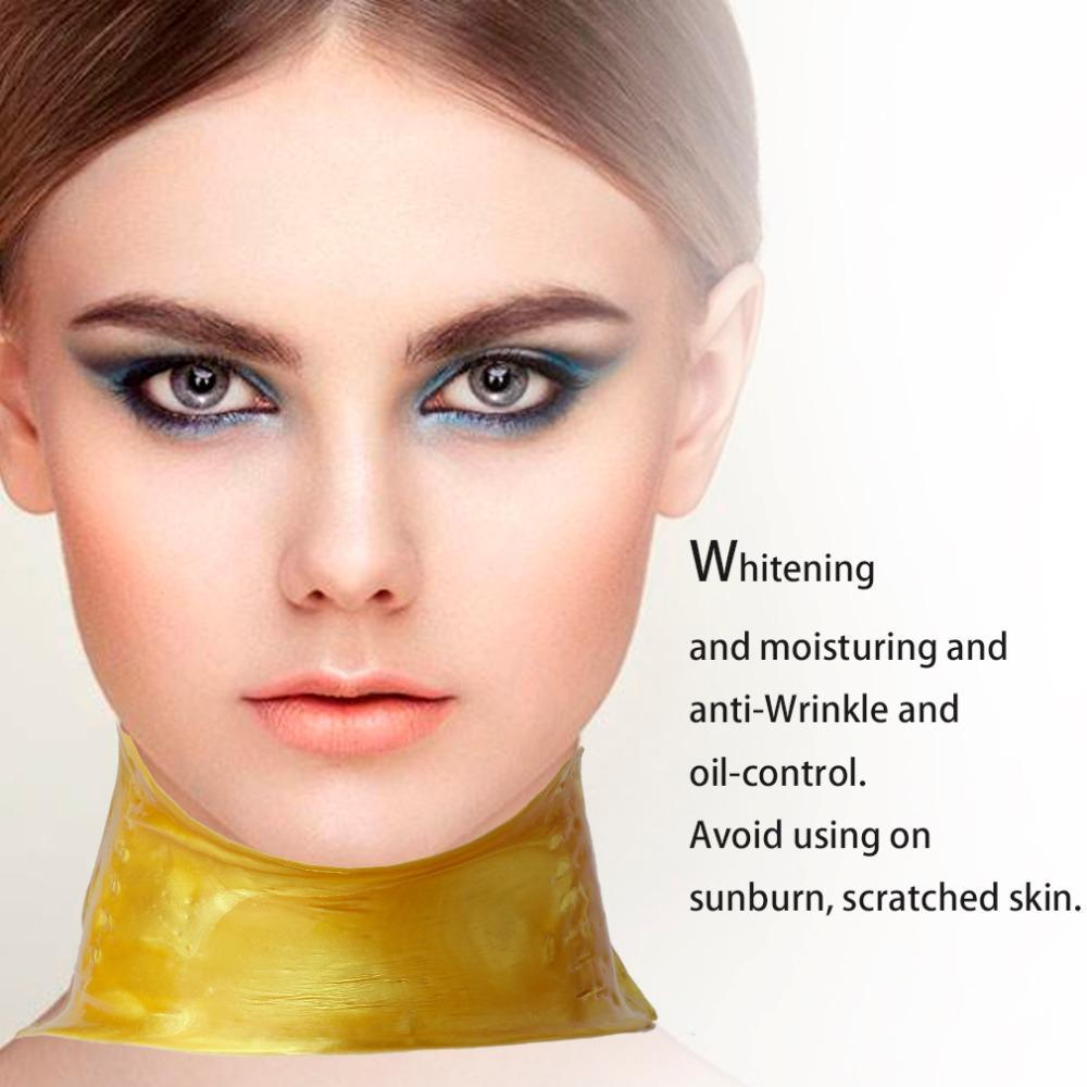 Collagen Whitening Anti-Aging Wrinkle Neck Mask