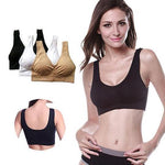 *2019 Hot Selling TV Products* Comfortable Seamless Wireless Bra Sale (3pcs/set)