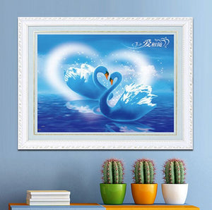 SWAN --- 5D Diamond Painting
