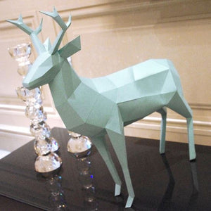 Little Deer Papertrophy----- 3D DIY Art Craft