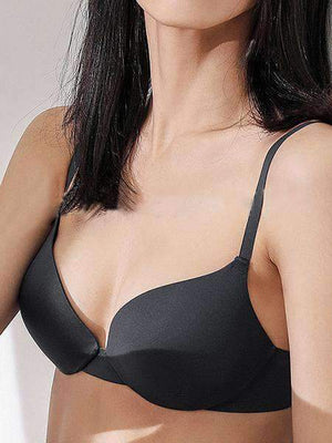 3/4 Smooth Push Up Sexy Solid Bra