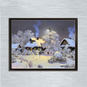 Snow Lodge--5D DIY Diamond Painting