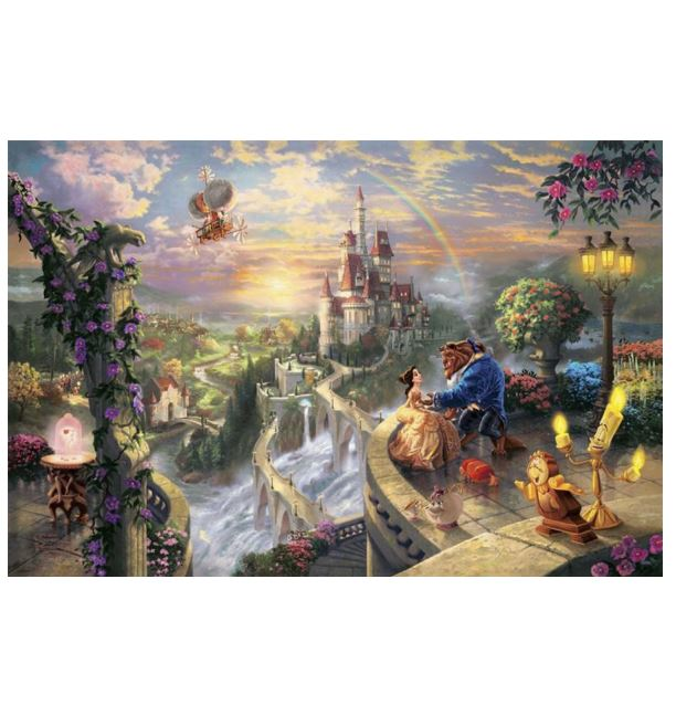 Beauty and The Beast ---5D Diamond Painting