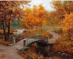 Autumn Landscape - DIY Painting By Numbers