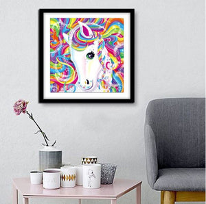 Colorful Horse ---5D Diamond Painting