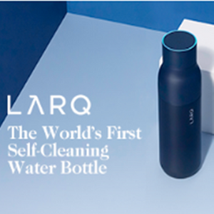 World's First Self-Cleaning Bottle