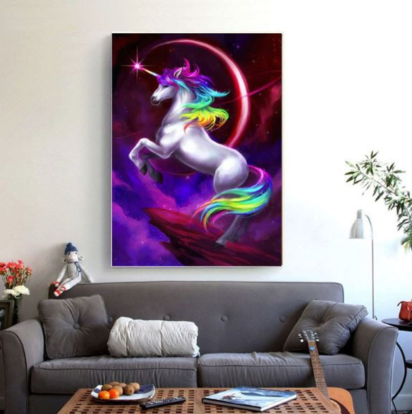 Magic Unicorn ---5D Diamond Painting