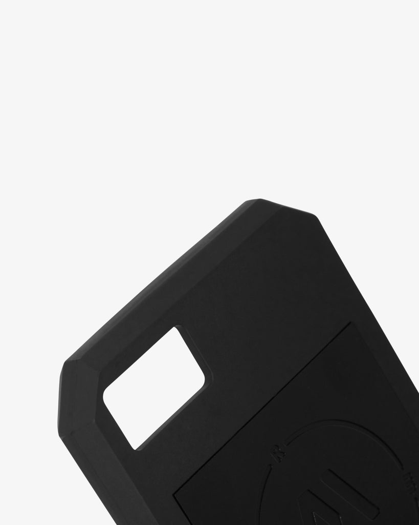 Detail of Ring My Bell mobile phone case - myCircle BLACK / YIN
