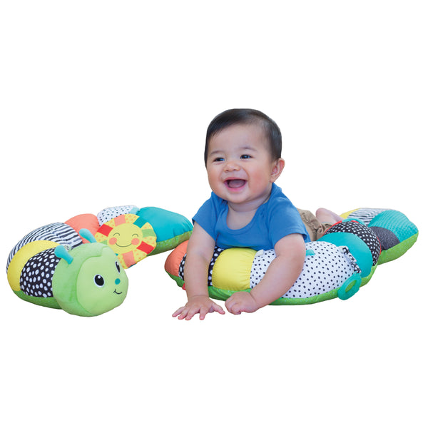 INFANTINO Prop-A-Pillar Tummy Time & Seated Support™ (Green)