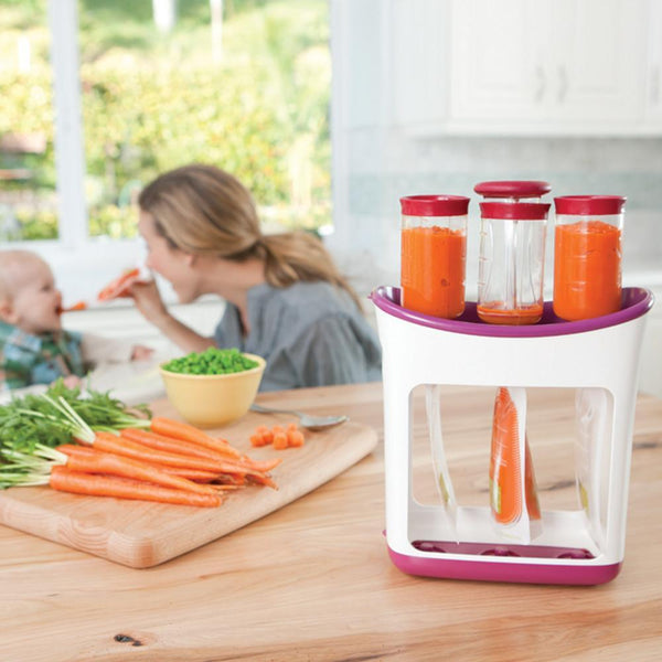 INFANTINO Squeeze Station™ Starter Kit (Fresh Squeezed™ Feeding Line)
