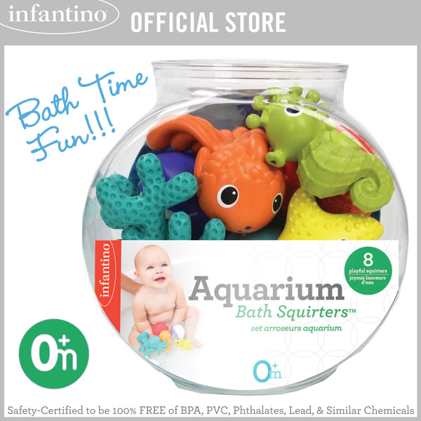 INFANTINO Aquarium Bath Squirters™
