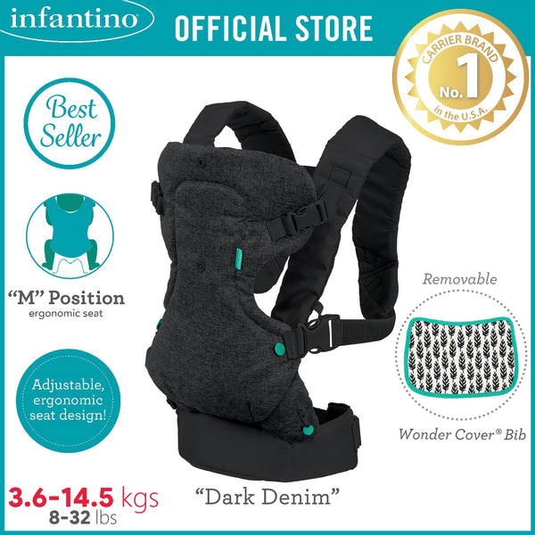INFANTINO Flip™ 4-in-1 Convertible Carrier (Denim)