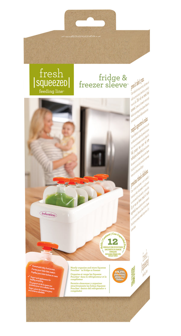 INFANTINO Fridge & Freezer Sleeve (Fresh Squeezed Feeding Line)